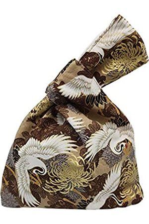 BAR Autotech Handgelenktasche aus Baumwolle, japanisches Muster, Knoten-Tasche, trage Geldbörse, Leinen-Tragetasche, Geschenk für Mädchen, Jungen, Ehefrau