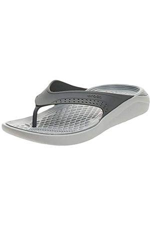 Crocs Crocs Unisex Literide Flip U Dusch- & Badeschuhe, Schwarz (Fumée/Blanc Perle 06J)