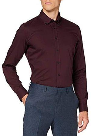 Seidensticker Herren Business Hemd - Bügelfreies Hemd mit sehr schmalem Schnitt - X-Slim Fit - Langarm - B.D.-Kragen - 100% Baumwolle