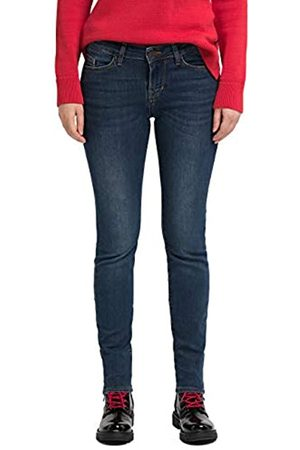 Mustang Damen Slim Fit Caro Jeans, (Dark 802)