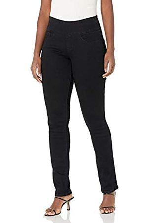 Jag Jeans Jag Jeans Damen Peri Straight Jeans, Schwarz-Soft Black