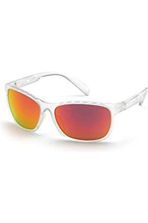 adidas Herren SP0014 Sonnenbrille, Crystal/Brown Mirror