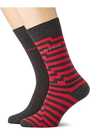 HUGO BOSS Herren Socken & Strümpfe - Herren 2P RS Stripe CC Klassische Socken