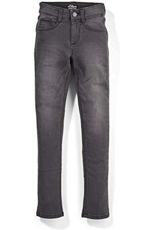 s.Oliver S.Oliver Jungen Skinny Fit: Super skinny-leg Jeans grey 152.SLIM