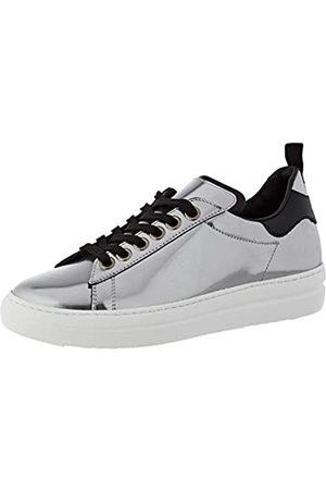 Pantofola d'Oro Damen Court Classic Oxford-Schuh, Acciaio/Nero