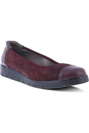 Spring Step Signe Loafer für Damen, Bordeaux-Veloursleder
