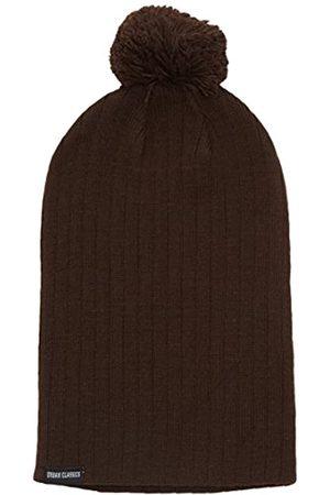 Urban classics Unisex Ohrenschützer Wintermütze Bobble Beanie (Brown) One Size