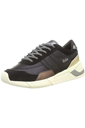 Gola Damen Eclipse Trident Sneaker, Black/Bronze/
