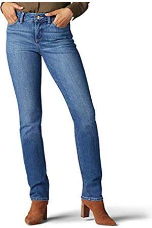 Lee Lee Damen Secretly Shapes Regular Fit Straight Leg Jeans