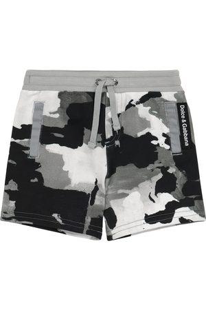 Dolce & Gabbana Baby Shorts - Baby Shorts aus Baumwoll-Jersey