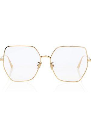 Dior Damen Accessoires - Brille GemDiorO S2U aus Metall