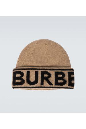 Burberry Hüte - Beanie aus Kaschmir mit Intarsie