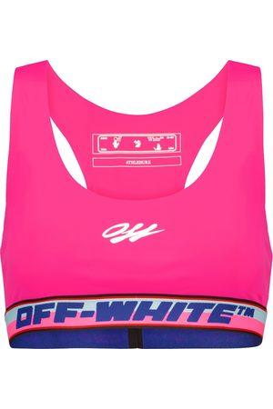 OFF-WHITE Sport-BH aus Jersey