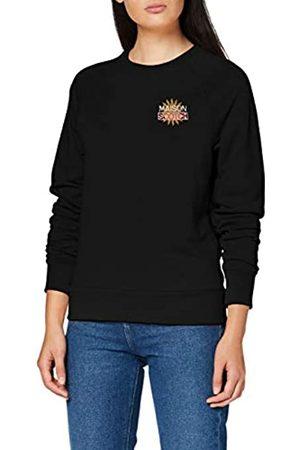 Scotch&Soda Damen Sweatshirts - Maison Womens Baumwollmischung mit Logo-Artwork Sweatshirt