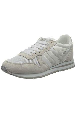 Gola Damen Daytona Mirror Sneaker, White/Silver