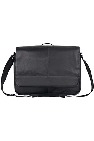 Kenneth Cole Kenneth Cole Reaction Risky Business Full-Grain Colombian Leather Crossbody Laptop & Tablet Flapover Messenger Bag