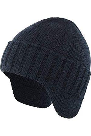 Ambientehome Home Prefer Herren Wintermütze Strickmütze mit Ohrenklappen und Ohrenklappen - - Einheitsgröße