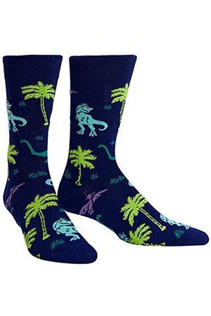 Sock It To Me Herren-Crew Socken - Land of the Dinos (EU Größe: 38-46)