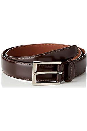 Brooks Brothers Herren Cintura Formale Pelle Fibbia Acciaio Gürtel