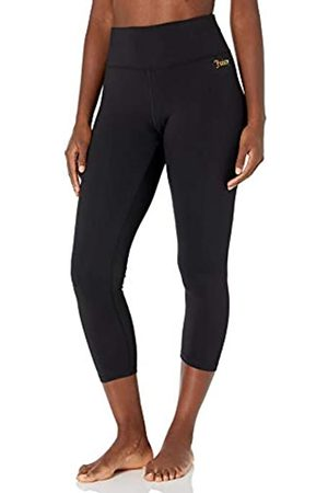 Juicy Couture Damen High Waisted Crop Yoga Tight Leggings