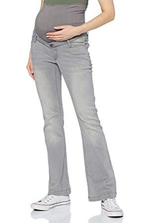 Esprit ESPRIT Maternity Damen Pants Denim OTB Flared Jeans, Grey Denim-920
