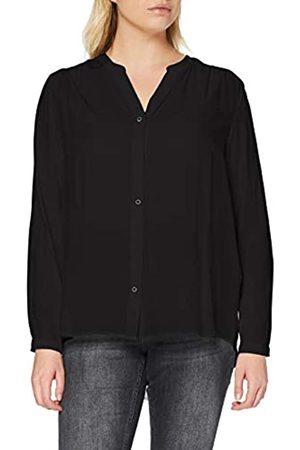 Carmakoma Damen CARANITA LS Shirt NOOS Bluse, Black