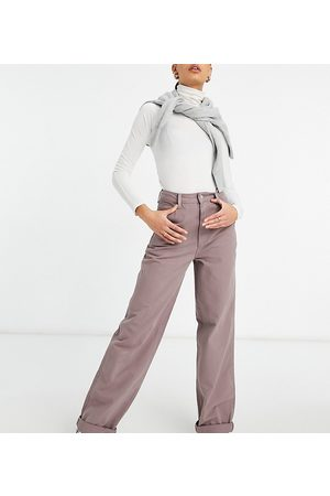 ASOS ASOS DESIGN Tall – ,Lockere' Chino-Hose in verwaschenem Flieder-Lila