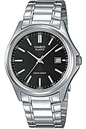 Casio Herren Uhren - Herren Analog Quarz mit Edelstahl Armbanduhr MTP 1183PA 1A