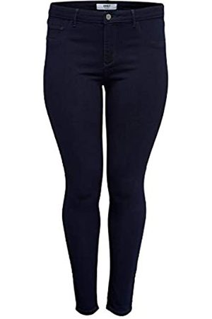 Carmakoma Female Skinny Fit Jeans Curvy CARThunder Push reg 46Dark Blue Denim