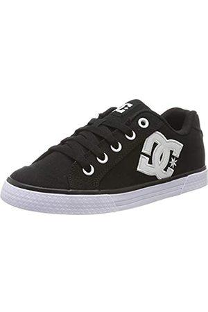 DC Damen Chelsea Tx-Shoes for Women Sneaker, Black/White/Black