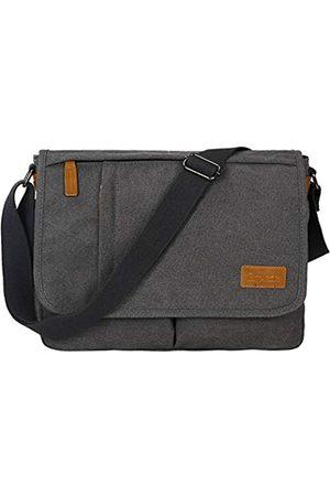ESTARER Messenger Bag für Damen und Herren, 13–14 Zoll Laptop, wasserabweisend, Schultertasche, Umhängetasche, Büchertasche