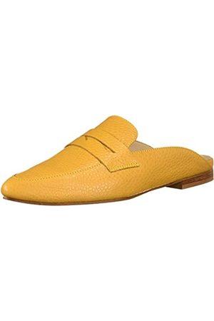 KAANAS Damen ALBAROSSA Pointy Mule Flat Fashion Slide Shoe Hausschuh