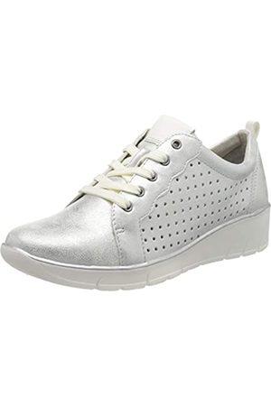 Jana Softline Damen 8-8-23666-24 Sneaker, (Silver 941)