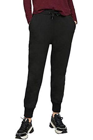 s.Oliver S.Oliver Damen Sweatpants mit Tunnelzugbund black 44
