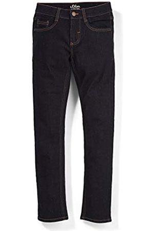 s.Oliver S.Oliver Jungen Slim Fit: Skinny leg-Jeans mit Waschung dark blue 146.REG