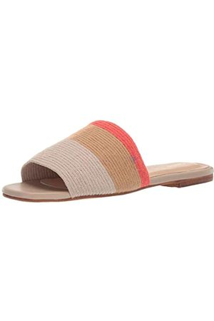 KAANAS Damen Bronte Woven Flat Fashion Slide Shoe Flache Sandale