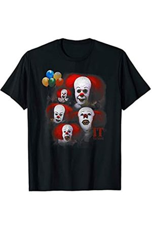 Pennywise IT: TV Mini Series Many Faces of Pennywise T-Shirt