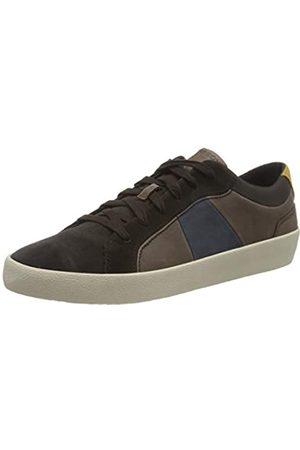 Geox Herren U WARLEY B Sneaker, Coffee/Dk Coffee