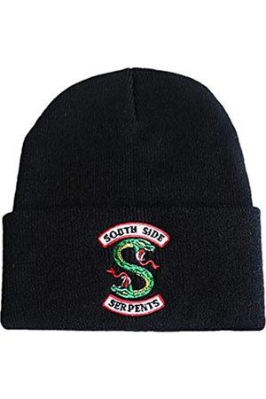 Senning Erwachsene Riverdale Beanie Cap Winter Strickmütze Stickerei Mütze - - Einheitsgröße