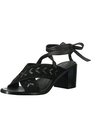 Frye Damen Bianca Woven Perf Ankle Strap Sandalen mit Absatz