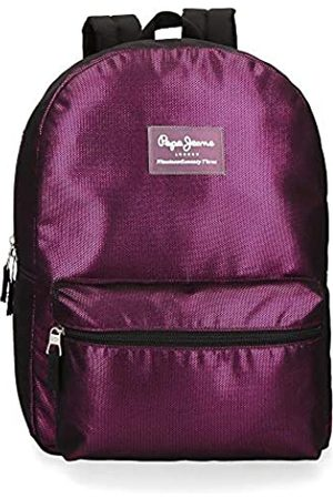 Pepe Jeans Pepe Jeans Lily Laptop-Rucksack Violett 32x44x15 cms Polyester 15