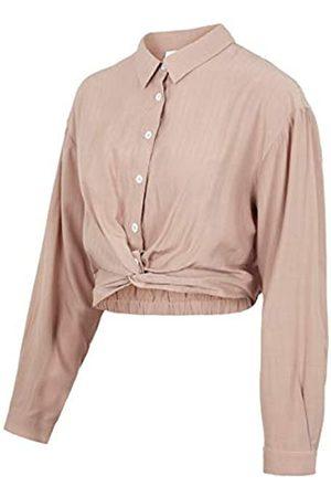Mama Licious Damen MLXENIA L/S Woven Short TOP Bluse