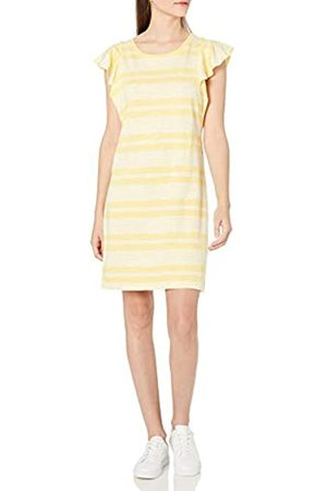 Goodthreads Kleid aus schwerem Baumwollstoff mit Rüschenärmeln Dresses