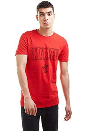 Marvel Marvel Herren Spiderman Web Logo T-Shirt