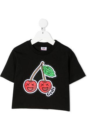 Gcds Kids T-Shirt mit Kirschen-Print