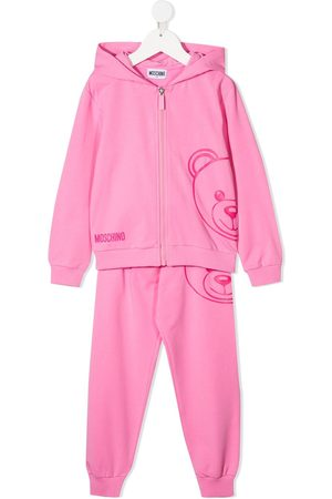 Moschino Kids Logo-print two-piece tracksuit