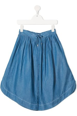 Chloé Kids Weite Chambray-Culottes