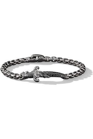 David Yurman Herren Armbänder - Waves Sterlingsilberarmband mit Diamanten
