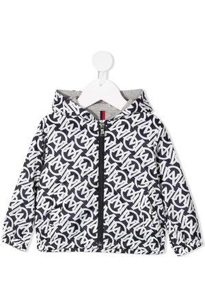 Moncler Enfant Monogram-print jacket