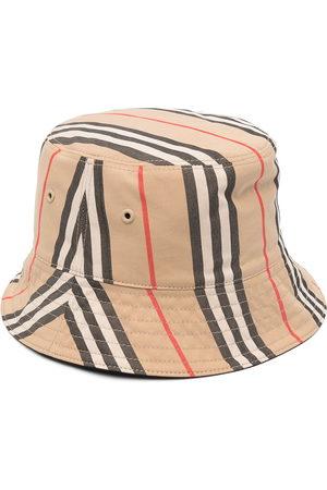 Burberry Fischerhut mit Vintage-Check